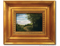 Oil on Canvas: 'Just Passing Through' by John O'Keefe Jr.
