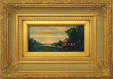 Giclee on Canvas with Frame 2EMP001-G titled 'Moment of Reflection' by John O'Keefe Jr.