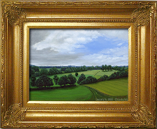 Giclee on Canvas with Frame 2EMP005-G titled 'Peaceful Hills' by John O'Keefe Jr.