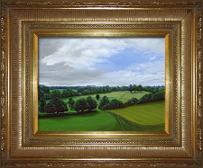 Giclee on Canvas with Frame 2EMP006-G titled 'Peaceful Hills' by John O'Keefe Jr.