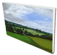 Giclee on Canvas titled 'Peaceful Hills' by John O'Keefe Jr.