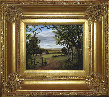 Giclee on Canvas with Frame 2EMP005-G titled 'Summer in the Valley' by John O'Keefe Jr.