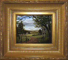 Giclee on Canvas with Frame 2EMP006-G titled 'Summer in the Valley' by John O'Keefe Jr.