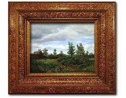Oil on Linen: 'The Bridge Home' by John O'Keefe Jr.
