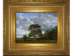 Oil on Linen: 'The Field's Edge' by John O'Keefe Jr.