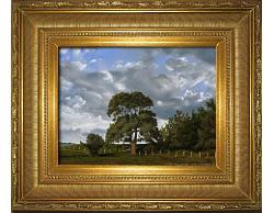Oil on Linen: 'The Field's Edge' by John O'Keefe Jr.