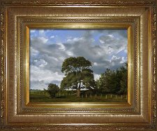 Giclee on Canvas with Frame 2EMP006-G titled 'The Field's Edge' by John O'Keefe Jr.