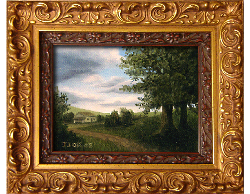 Oil on Canvas: 'The Road Home' by John O'Keefe Jr.