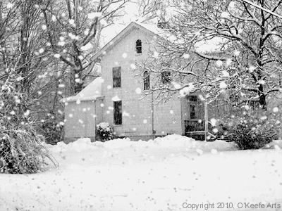 Photograph by Jennifer O'Keefe - Old Fashion Winter