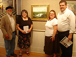 Opening Reception - Schmoozing with other artists 1