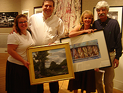 Opening Reception - Schmoozing with other artists 2
