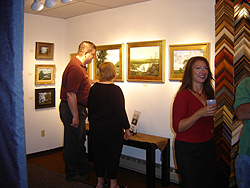 Opening Reception - main gallery - guests 2