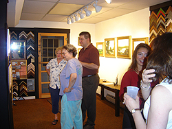 Opening Reception - main gallery - guests 3