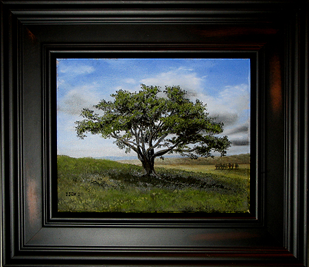 Big Cork Tree by John O'Keefe Jr - Featured Painting