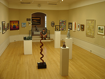 Visiting the Mystic Art Center - gallery view 2