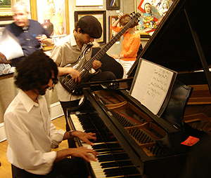 Salmagundi Club - Jazz band, The Jeevan D'Souza Trio