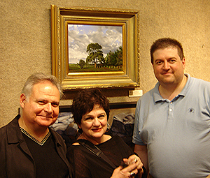 Ernie Sterlacci, Ann Benedetto, and me