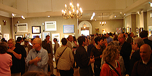 Salmagundi Club reception for 2009 annual non-member painting and sculpture exhibit