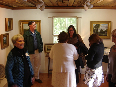 Mill House Gallery Exhibit opening reception