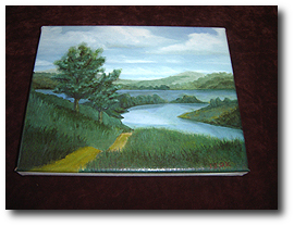 8 x 10 Canvas Stretching - Step 30 - Inspect and Finished