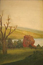 Painting tutorial for 'Autumn on the Hudson revisited' by John O'Keefe Jr. - day 2