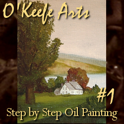 Step-By-Step Tutorial: Painting 'Autumn on the Hudson Revisited' by John O'Keefe Jr.