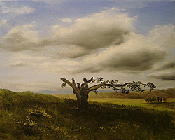 Painting tutorial for 'Big Cork Tree' by John O'Keefe Jr. - Day 2 Hour 7