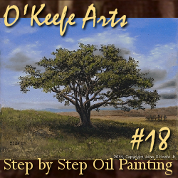 Step-By-Step Tutorial: Painting 'Big Cork Tree' by John O'Keefe Jr.