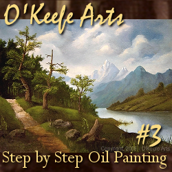 Step-By-Step Tutorial: Painting 'Lakeside Path' by John O'Keefe Jr.