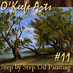 Step-By-Step Tutorial: Painting 'Old Olive Tree Path' by John O'Keefe Jr.