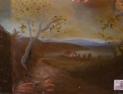 Painting tutorial for 'Peaceful Connecticut Valley in Autumn' by John O'Keefe Jr. - John's composition ideas 2