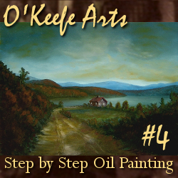 Step-By-Step Tutorial: Painting 'Peaceful Connecticut Valley in Autumn' by John O'Keefe Jr.