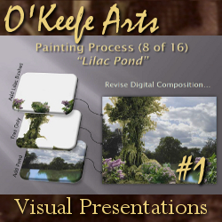Landscape Oil Painting Presentation (04-11-10) by John O'Keefe Jr. - preview image