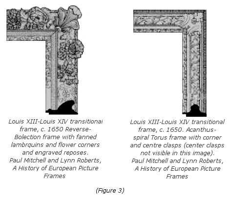 Baroque Louis XIII Frame History - Figure 3