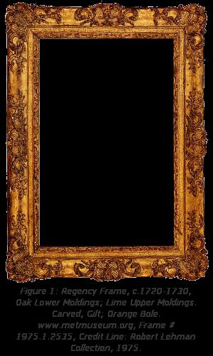 Baroque Regence Frame History - Figure 1