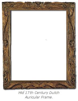 Mannerist Frame History - Auricular Frame