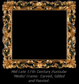 Mannerist Frame History - Auricular Medici Frame