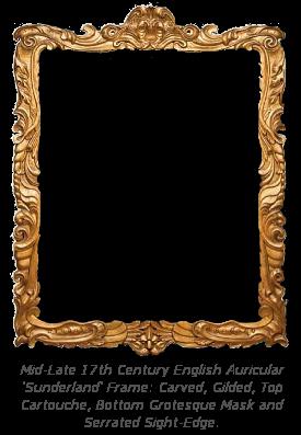 Mannerist Frame History - Auricular Sunderland Frame
