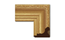 "Neoclassical: 2nd Empire Style Frame 2EMP003 (Moulding Width: 5"", Depth: 3-1/2""; Rabbet Width: 3/8"", Depth: 3/8"") preview image"