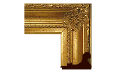 "Neoclassical: 2nd Empire Style Frame 2EMP005 (Moulding Width: 4-1/4"", Depth: 2-3/4""; Rabbet Width: 1/4"", Depth: 3/8"") preview image"