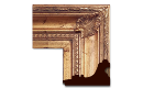 "Neoclassical: 2nd Empire Style Frame 2EMP007 (Moulding Width: 4-3/4"", Depth: 3""; Rabbet Width: 1/4"", Depth: 1/4"") preview image"