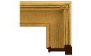 "Arts and Crafts: Hassam Style Frame AC001 (Moulding Width: 3-1/2"", Depth: 1-3/8""; Rabbet Width: 1/4"", Depth: 7/16"") preview image"