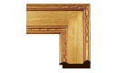 "Arts and Crafts: Newcomb-Macklin Style Frame AC004 (Moulding Width: 4"", Depth: 1-1/2""; Rabbet Width: 1/4"", Depth: 3/8"") preview image"