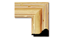 "Arts and Crafts Style Frame AC005 (Moulding Width: 2-3/4"", Depth: 1-3/4""; Rabbet Width: 1/4"", Depth: 1/4"") preview image"