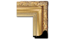 "Art Nouveau Style Frame AN001 (Moulding Width: 3-1/2"", Depth: 2""; Rabbet Width: 3/8"", Depth: 1/2"") preview image"