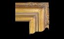 "Art Nouveau Style Frame AN002 (Moulding Width: 5"", Depth: 2-5/8""; Rabbet Width: 3/8"", Depth: 3/8"") preview image"