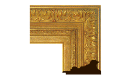 "Baroque: Louis XIII Style Frame LXIII001 (Moulding Width: 4-7/8"", Depth: 2-1/8""; Rabbet Width: 3/8"", Depth: 3/8"") preview image"