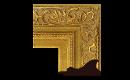 "Baroque: Louis XIV Style Frame LXIV001 (Moulding Width: 5-3/8"", Depth: 2-7/8""; Rabbet Width: 3/8"", Depth: 3/8"") preview image"