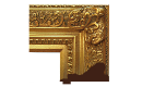 "Baroque: Louis XIV Style Frame LXIV002 (Moulding Width: 5-3/8"", Depth: 3""; Rabbet Width: 5/16"", Depth: 5/16"") preview image"