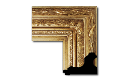 "Victorian Style Frame VIC002 (Moulding Width: 5-3/4"", Depth: 3""; Rabbet Width: 1/4"", Depth: 1/4"") preview image"